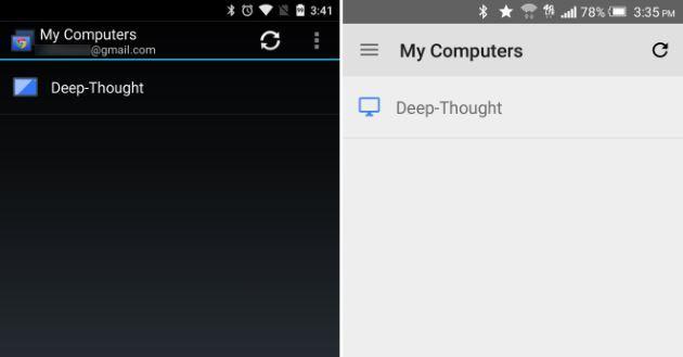 Chrome Remote Desktop, Google aggiorna l'app Android alla v43