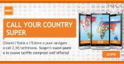 Wind Call Your Country Super: chiamate a un prezzo speciale verso l'estero