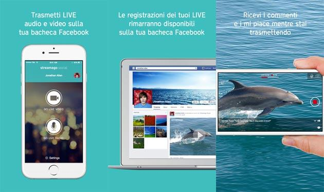 Streamago sfida Periscope sul Video Streaming sociale