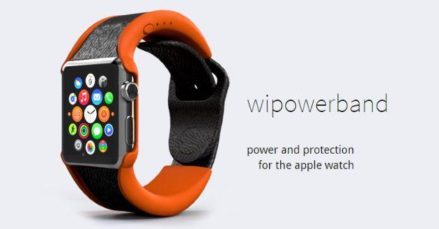 Apple Watch, arriva la Ricarica Extra con il cinturino Wipowerband