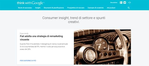 Think with Google arriva in Italia