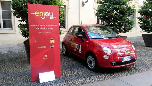Enjoy, cambiano le tariffe del car-sharing ENI