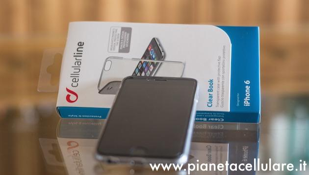 Recensione Clear Book Case Cellularline per Apple iPhone 6, 6 Plus