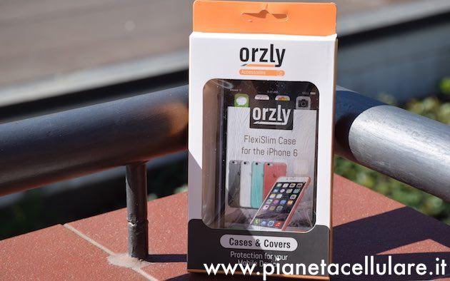 Custodie Apple iPhone 6 Plus: Recensione Cover FlexiSlim Orzly