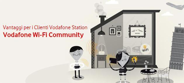 Vodafone lancia il WiFi condiviso, nasce WiFi Community