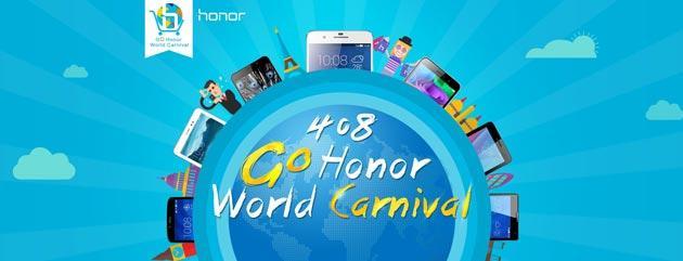 Honor World Carnival: solo OGGI Holly e Honor 6 a prezzo scontato