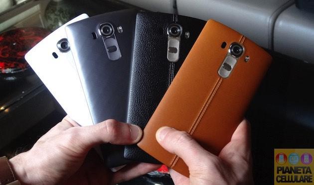 LG G4: Video anteprima del nuovo Lg G4, Foto e Prime Impressioni