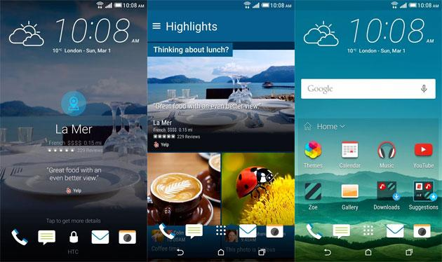 HTC Blinkfeed per Android cambia nome in Sense Home