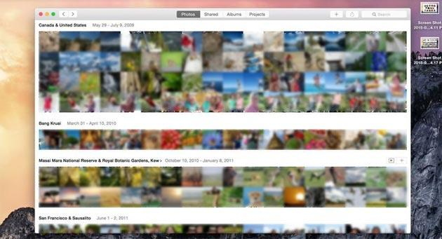 Foto debutta su Apple OS X: scopriamo la nuova app per Mac