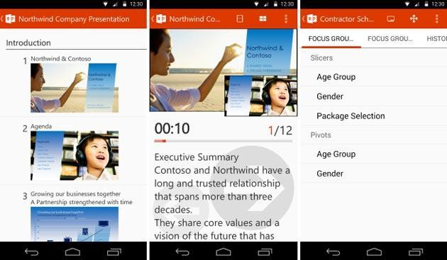 Microsoft Office Remote per Android