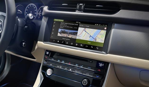 HERE Auto debutta nella Jaguar XF