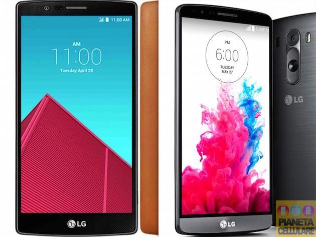 LG G4 vs LG G3, caratteristiche tecniche a confronto