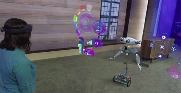 Microsoft Hoolens, video demo del futuro olografico di Microsoft