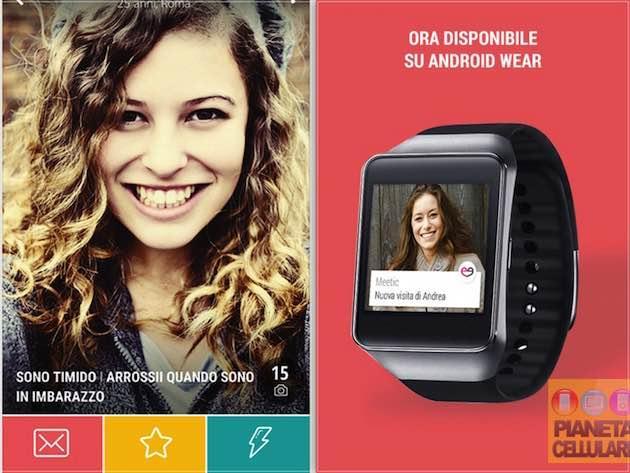 Meetic lancia la nuova app per Smartphone, Tablet e Smartwatch