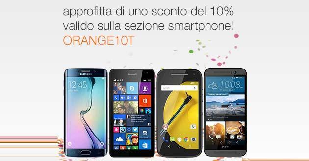 Orange store: 10 per cento di Sconto sugli smartphone fino al 28 maggio