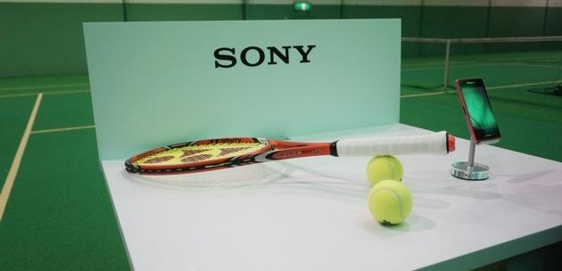 Sony Smart Tennis Sensor rende la racchetta da Tennis intelligente