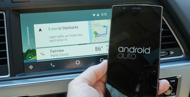 Foto Android Auto Wireless sui device Android O e P anche non Google
