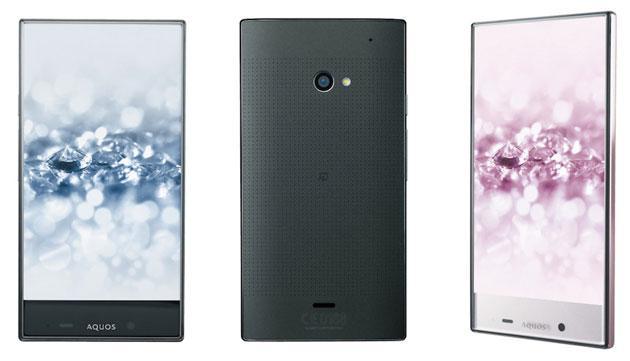 Sharp presenta Aquos Crystal 2, smartphone con cornici quasi assenti