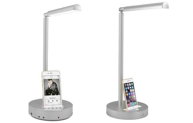Nodis NT-S3 e NT-S3x, lampade con luce LED e docking station per iPhone
