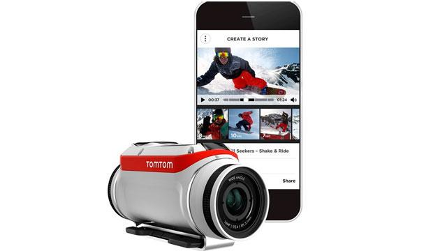 Bandit, da TomTom la Action Camera con Media Server integrato