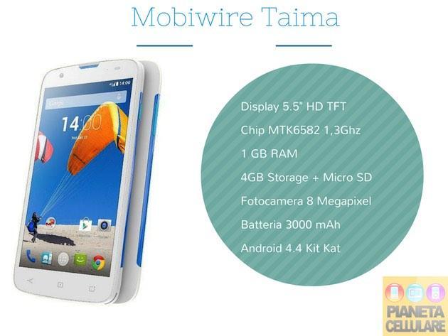 Recensione Mobiwire Taima, Phablet Android da 179 euro
