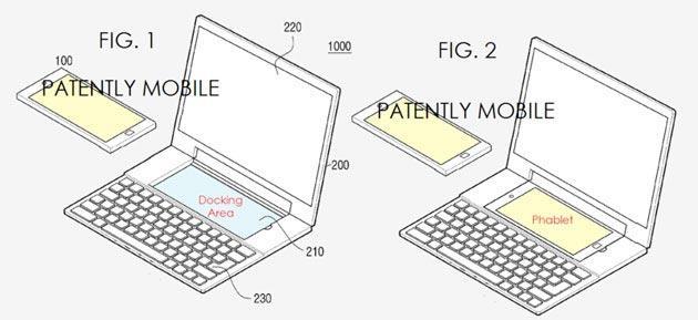 Samsung brevetta un ibrido Smartphone-Notebook con 2 sistemi operativi