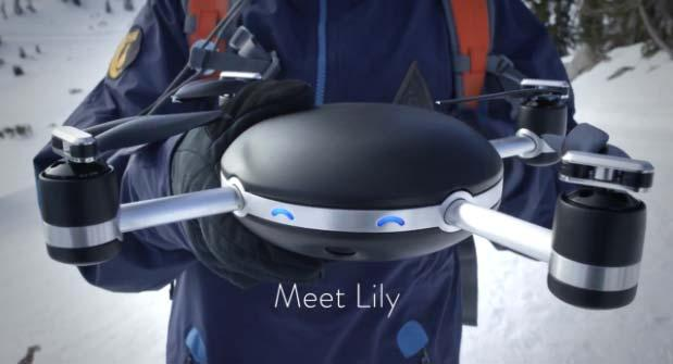 Lily Camera, arriva il Selfie-Drone o Dronies