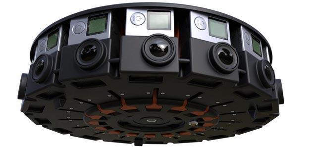 GoPro, pronto sistema a 16 telecamere per riprese sferiche