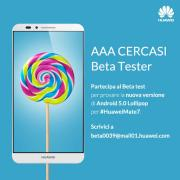 Foto Huawei: beta su invito per Android Lollipop su Mate 7 e primo video