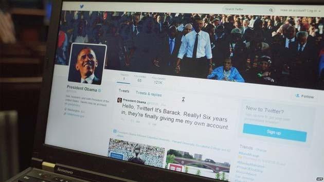 Barack Obama ottiene il suo account Twitter personale