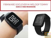 Foto Firmware Goclever Chronos ECO in Weloop Tommy Smartwatch, guida e recensione