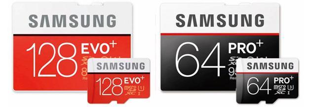 Samsung Pro Plus e Evo Plus, nuove memory card anche per il 4K