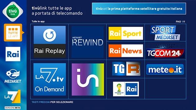 Tivu'Link, i servizi on demand su Tivusat