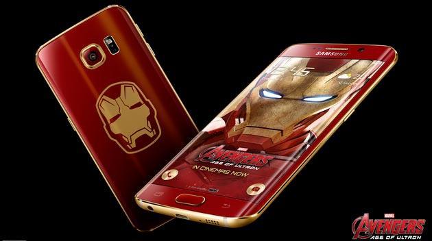 Samsung annuncia Galaxy S6 Edge Iron Man Limited Edition: Foto e Video Ufficiali
