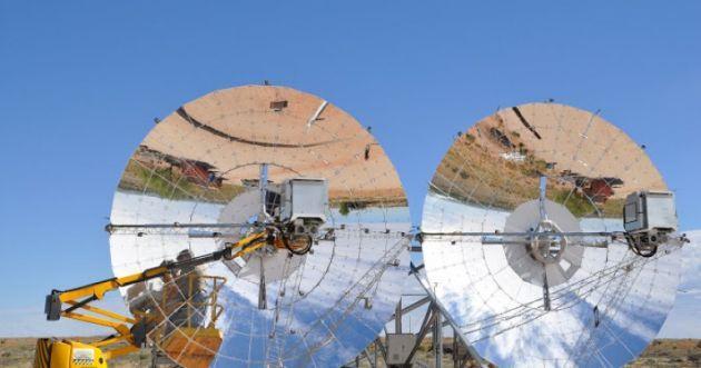 Una parabola a concentrazione e un motore Stirling, ecco il futuro del Solare