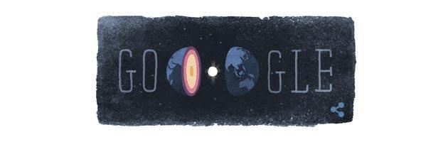 Google Doodle per la geofisica Inge Lehmann