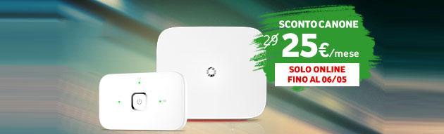 Vodafone ADSL-Fibra in promo a 30 euro al mese [scade il 23 Maggio]