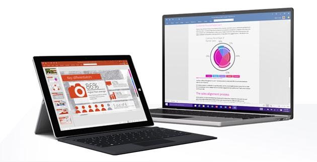 Microsoft Office 2016 per Windows ora disponibile