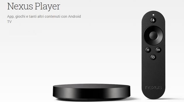 Nexus Player, Google chiude la vendita