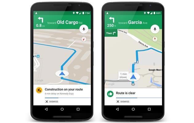 Google Maps su iOS introduce Avvisi vocali sul Traffico in Tempo Reale