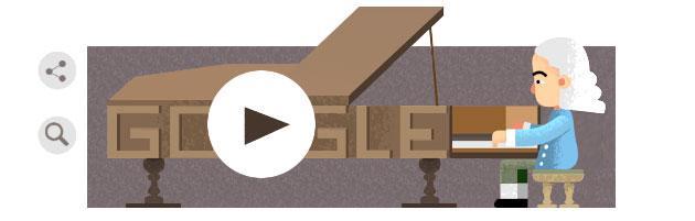 Google Doodle a Bartolomeo Cristofori, inventore del Pianoforte