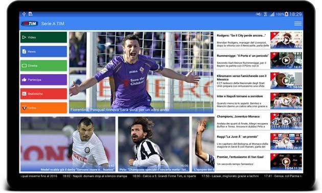 App Serie A TIM si integra con Google Now