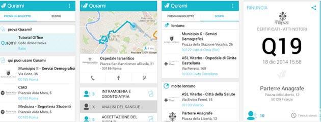 Qurami, la nuova App per saltare coda all' Anagrafe