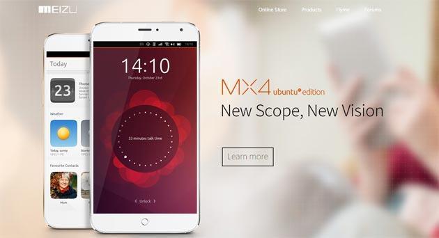 Meizu MX4 Ubuntu Edition arriva in Europa, anche in Italia