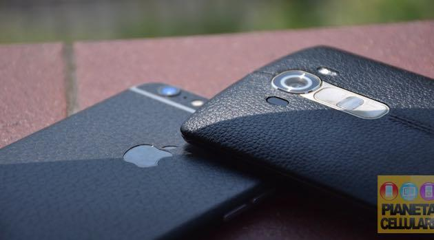 LG G4 vs Apple iPhone 6 Plus, il nostro confronto