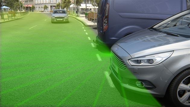 Ford porta in Europa la telecamera frontale con visuale a 180 gradi