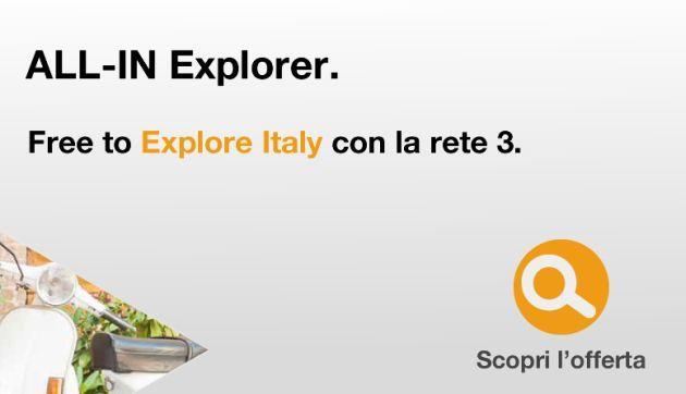 Tre Free To Explore: Da 7 a 30 giorni di navigazione senza limiti, anzi no