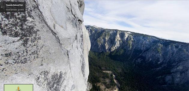 Google scala il monte El Capitan per Street View