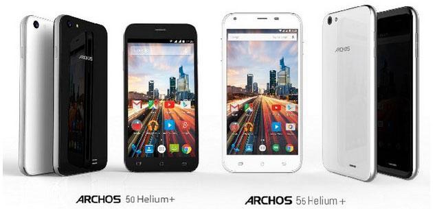 Archos Helium Plus, nuova linea di smartphone in arrivo a Luglio da 169 Euro