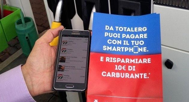 TotalErg, il Carburante si paga con lo smartphone